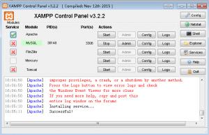 1 300x194 - 在Win7上使用XAMPP和WordPress建站